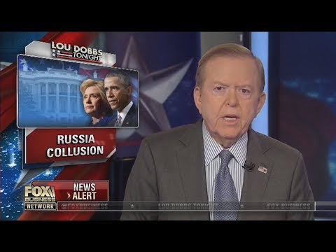 Lou Dobbs Tonight 10/18/17 Fox Business October 18, 2017 CLINTON-RUSSIA COLLUSION, TRUMP, NFL