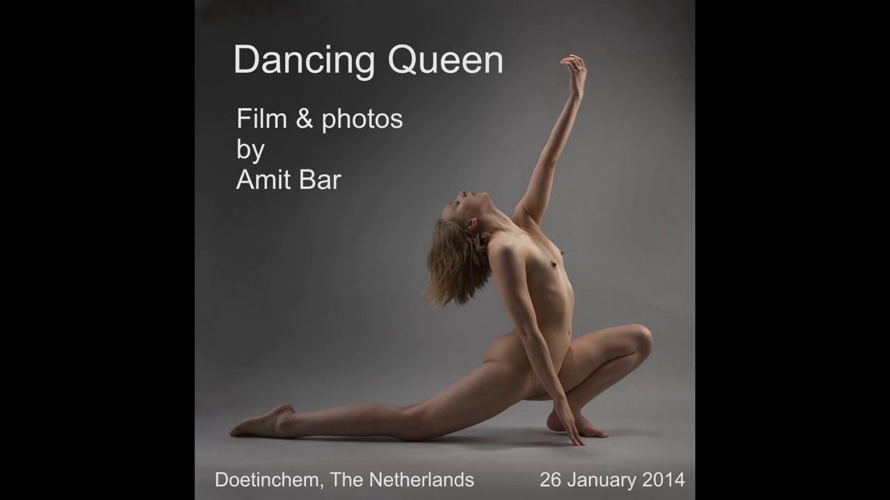 Dancing Queen nude session by Amit Bar