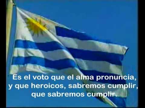 Himno de Uruguay con letra - Uruguay's Anthem with lyrics