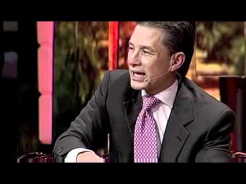 Una noche con espíritu   Entrevista al Pastor Cash Luna por Myrka Dellanos Congreso Ensancha 2010