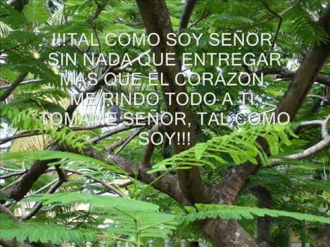 TAL COMO SOY- CANTA JESUS ADRIAN ROMERO
