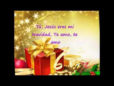Nació Jesús, con letra - Christine D`Clario