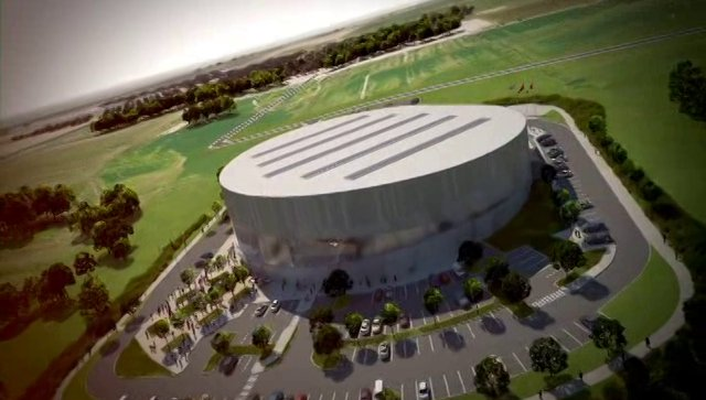 Pan Am 2015 - Milton VeloDrome Artist 3D Rendered Video