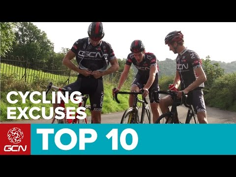 Top 10 Cycling Excuses – For Climbing
