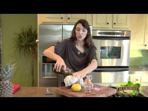 Shoshanna's Kitchen - Episode 35 - Herbal Massage Oil