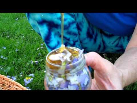 Violet Flower Honey