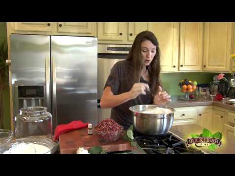 Shoshanna's Kitchen - Episode 39 - Herbal Bath Soak