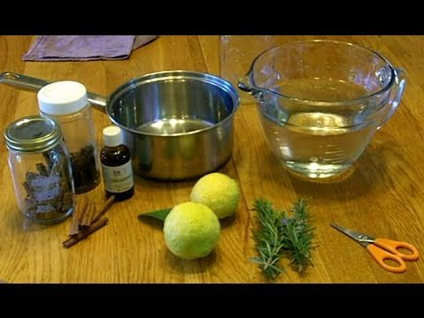 How to make Thieves Oil at Home for a Household Cleaner