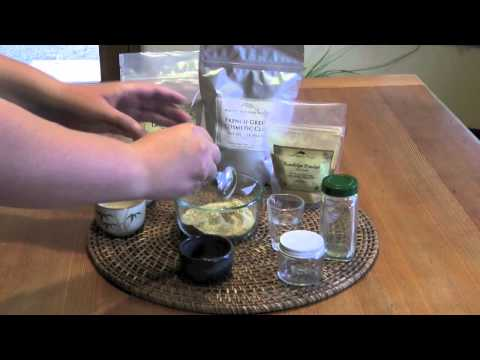 Simple Herbal Facial Scrub Recipe