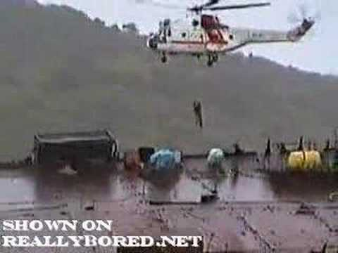 """""""Helicopter Crash During Offshore Salvage Operation"""""""
