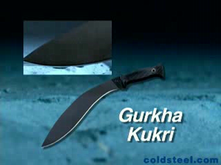 Cold Steel Gurkha Kukri (coldsteel.com)