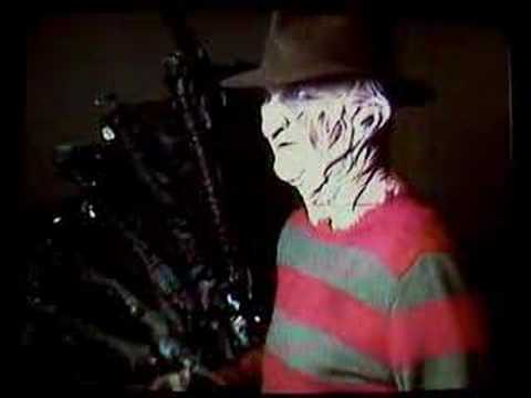 Freddy Krueger make fun of Robert Englund