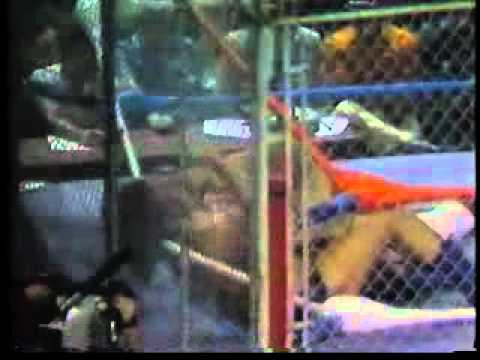 Andre the Giant vs. Big John Studd Steel Cage Match