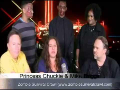 Zombie Survival Crawl on Mike & Princess Chuckie Show
