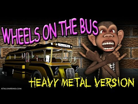 A Fallen Mind - Wheels on the Bus (heavy metal) [official music video]