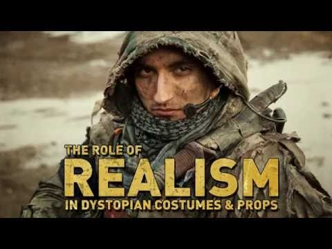 Realism and setting-appropriate design in dystopian costuming & props / PART 1