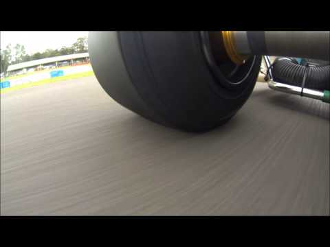 TaG 125 Practice at Newcastle Kart Track - NKRC 03 01 2013