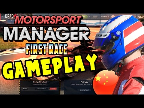 Motorsport Manager PC (Full Game) Gameplay!