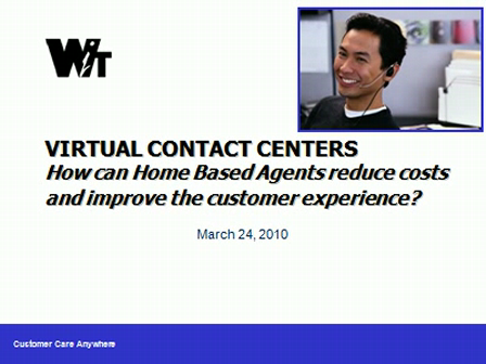 Virtual Call Centers_Home Based Agents