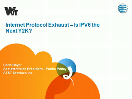IPv6: Running out of IP Addresses