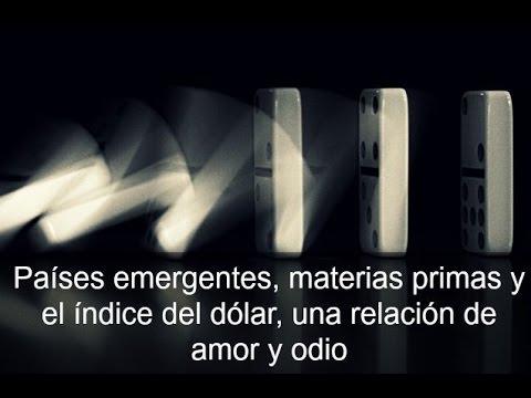 Video Analisis: Países emergentes, materias primas y índice del dólar, una relacion de amor y odio por OB 03-08-15