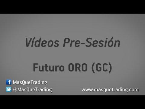 25-5-2016-Trading en español Análisis Pre-Sesión Futuro ORO (GC)