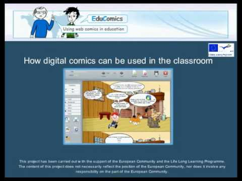 Educomics - Using digital comics in the classroom