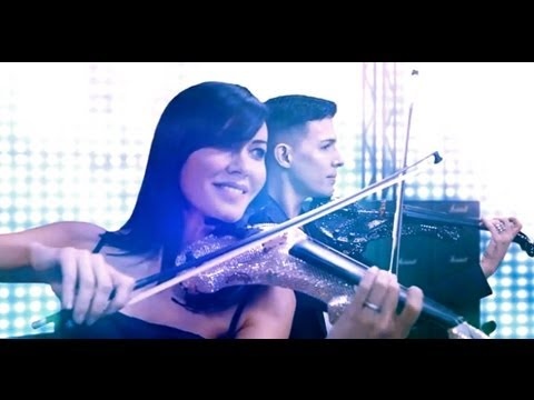 """Electric Violinists FUSE Rock """"We Are The Champions"""""""