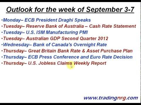 Gold And Silver Outlook for September 3-7 by Trading NRG