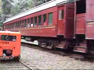 CWR Speeder Run (With Skunk Train Pass-By)