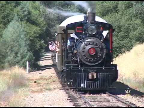 Return Of A Movie Star Sierra Railway No. 3