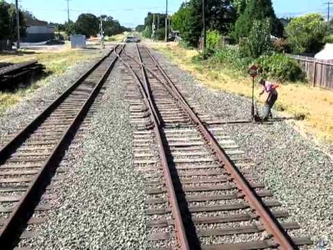 NorthWestern Pacific Bridge test train Petaluma CA