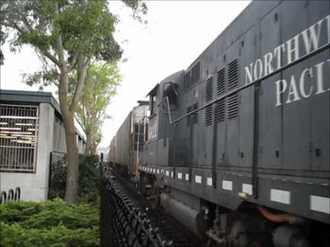 NWP 1922 operating in Petaluma 11/18/11