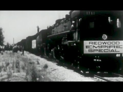 "Northwestern Pacific Railroad: ""Redwood Empire Special"" circa 1931 Prelinger Archives"