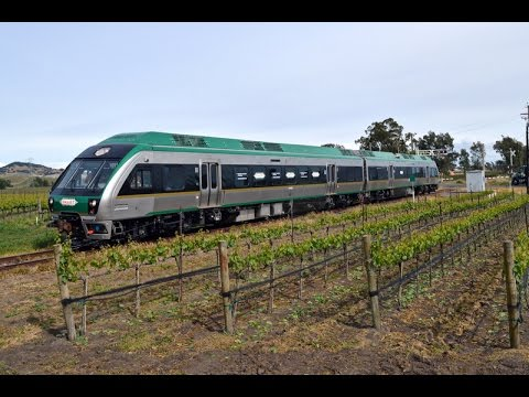 SMART's new DMU's from Brazos to Petaluma 4-6-15
