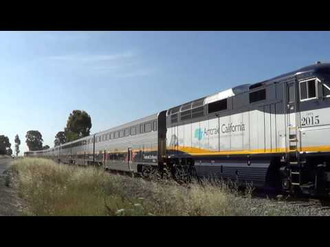 Chasing Amtrak 969/968, the NASCAR express