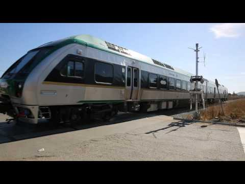 SMART Train Testing Brakes and Speed