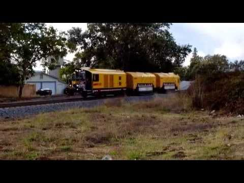 OFFICIAL SMART VIDEO: Loram Rail Grinder on SMART District Tracks near Fulton, CA