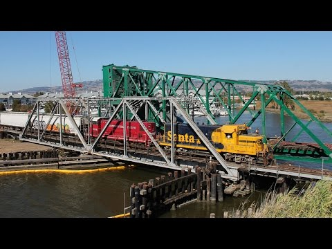 The End of An Era: The Haystack Swing Bridge Serves Its Final Train