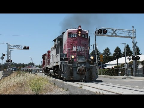 Late June NWP Runs Plus SMART DMUs and The Nascar Express