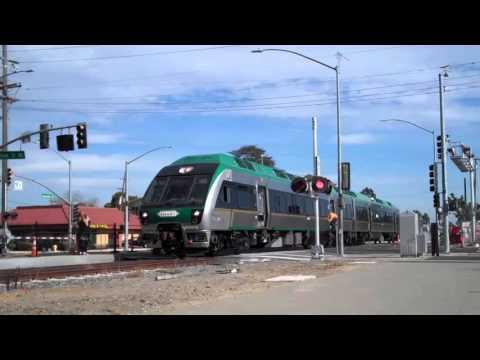 SMART train in Petaluma
