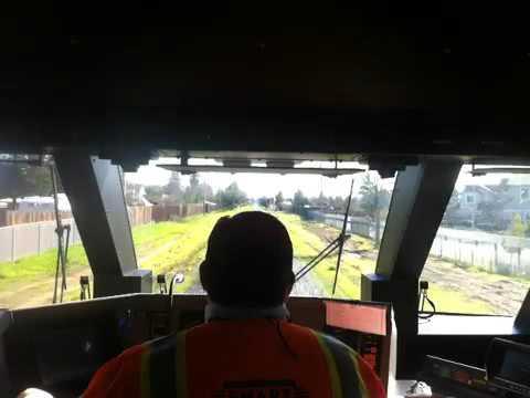 SMART Train Rolls Through Santa Rosa