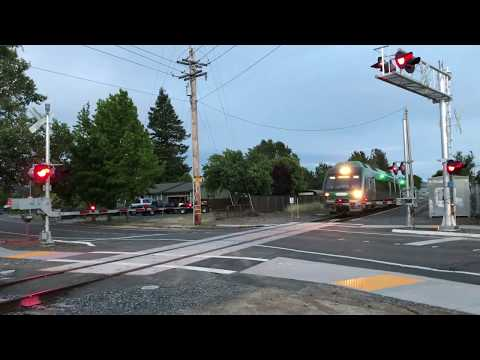 2 SMART Test Trains in Northern Santa Rosa 05/16/2017