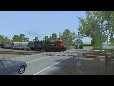 47 Tank Cars On The NWP | Railworks