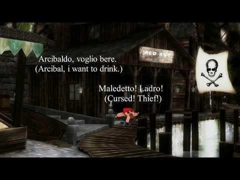 1   Olgan Main nel covo dei pirati - (1 Olgan Main in the pirate's hideout)