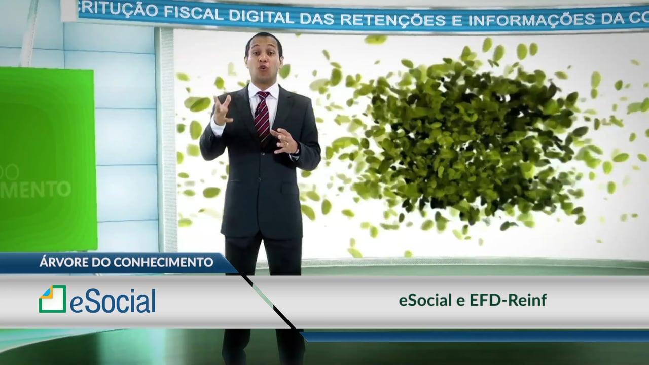 eSocial - eSocial e EFD-Reinf