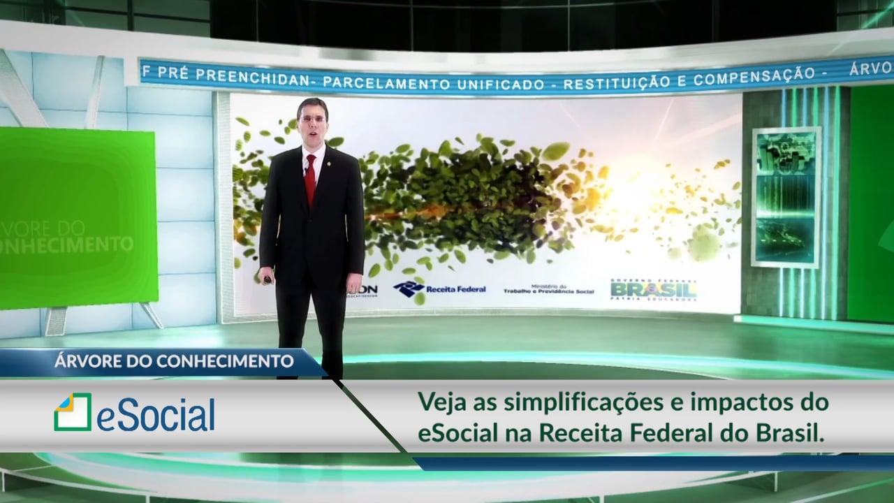 eSocial - Simplificações e Impactos do eSocial na Receita Federal do Brasil