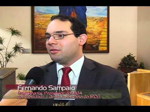 1º Fórum Goiano SPED - Entrevista com Fernando Sampaio