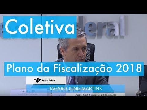 Coletiva - Plano da Fiscalização 2018
