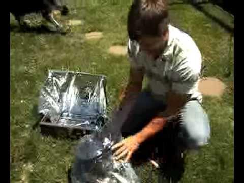 Building a Homemade Solar Oven